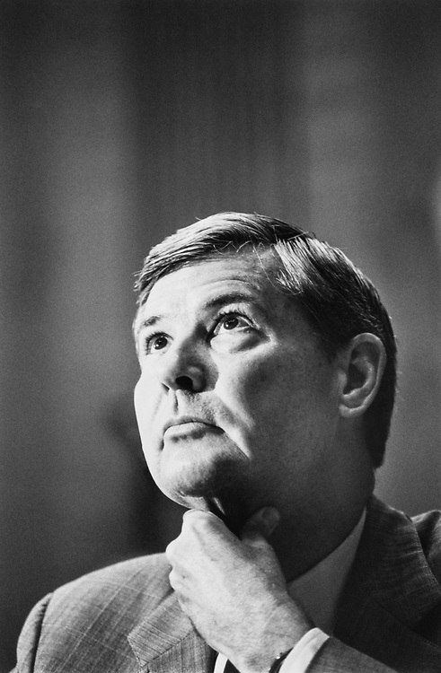 Sen. Bob Graham, D-Fla. Sept., 1991. (Photo by Maureen Keating/CQ Roll Call)