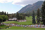 02 August 2008:  Large crowds attend the 3rd round of the 2008 US Senior Open Championship at The Broadmoor, Colorado Springs, CO.