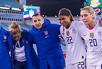 , FL - : Vlatko Andonovski of the United States talks to the WNT during a game between  at  on ,  in , Florida.