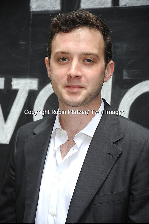 actor Eddie Kaye Thomas posing for photographers at The Olevolos Project Fundraiser Brunch at Le Cirque hosted by Bryan Greenberg on May 21, 2011 in New York.