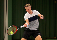 March 13, 2015, Netherlands, Rotterdam, TC Victoria, NOJK, Tom Moonen (NED)<br /> Photo: Tennisimages/Henk Koster