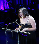 """Jenny Rachel Weiner during the Roundabout Theatre Company's 2017 Spring Gala """"Act ii: Setting the Stage for Roundabout's Future""""  presentation honoring Frank Langella and Leonard Tow at the Waldorf Astoria Hotel on February 27, 2017 in New York City."""