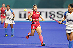 Yuri Nagai (JPN), <br /> AUGUST 31, 2018 - Hockey : <br /> Women's Final match <br /> between Japan 2-1 India  <br /> at Gelora Bung Karno Hockey Field <br /> during the 2018 Jakarta Palembang Asian Games <br /> in Jakarta, Indonesia. <br /> (Photo by Naoki Morita/AFLO SPORT)