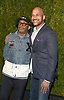 Spike Lee and Keegan-Michael Key attends the Chanel Tribeca Film Festival Artists Dinner on April 23, 2018 at Balthazar Restaurant in New York, New York, USA.<br /> <br /> photo by Robin Platzer/Twin Images<br />  <br /> phone number 212-935-0770