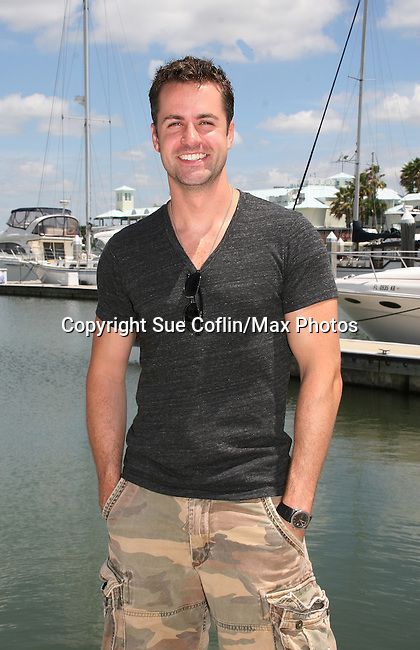 John Driscoll - Y & R and GL - 12th Annual SoapFest - Actors take a break on the Ramblin' Rose with Ken as the captain on May 14, 2010 on Marco Island, FLA. (Photo by Sue Coflin/Max Photos)