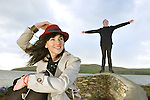 Singer, songwriter and musician, Inni-K, (Eithne O'Cathain) originally from Kildare and now living in Dingle, who will sing her own style of Indie Folk Music at the 'Other Voices' 10th anniversary festival in Dingle County Kerry next weekend pictured with producer Philip King at the head of the pier in Dingle. Top bands due to perform include, Cherry Ghost, Cold Specks, Edwyn Collins, Frank Turner, James Vincent McMorrow, Jimi Goodwin (Doves) King Charles, Lisa Hannigan, Little Green Cars, Mick Flannery, SBTRKT, Spiritualized, The Coronas, The Frames Wild Beasts, The Ambience Affair, We Cut Corners, Fred Ham Sandwich and Gypsies on the Autobahn. <br /> Picture by Don MacMonagle Singer, songwriter and musician, Inni-K, (Eithne O'Cathain) originally from Kildare and now living in Dingle, who will sing her own style of Indie Folk Music at the 'Other Voices' 10th anniversary festival in Dingle County Kerry next weekend pictured with producer Philip King at the head of the pier in Dingle. Top bands due to perform include, Cherry Ghost, Cold Specks, Edwyn Collins, Frank Turner, James Vincent McMorrow, Jimi Goodwin (Doves) King Charles, Lisa Hannigan, Little Green Cars, Mick Flannery, SBTRKT, Spiritualized, The Coronas, The Frames Wild Beasts, The Ambience Affair, We Cut Corners, Fred Ham Sandwich and Gypsies on the Autobahn. <br /> Picture by Don MacMonagle Singer, songwriter and musician, Inni-K, (Eithne O'Cathain) originally from Kildare and now living in Dingle, who will sing her own style of Indie Folk Music at the 'Other Voices' 10th anniversary festival in Dingle County Kerry next weekend pictured with producer Philip King at the head of the pier in Dingle at the launch of next weekend's Dingle Festival of Light.  Top bands due to perform on Other Voices include, Cherry Ghost, Cold Specks, Edwyn Collins, Frank Turner, James Vincent McMorrow, Jimi Goodwin (Doves) King Charles, Lisa Hannigan, Little Green Cars, Mick Flannery, SBTRKT, Spiritualized, The Coronas, The Frames Wild Be