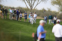 Charl Schwartzel (RSA) during the 1st round of the Waste Management Phoenix Open, TPC Scottsdale, Scottsdale, Arisona, USA. 31/01/2019.<br /> Picture Fran Caffrey / Golffile.ie<br /> <br /> All photo usage must carry mandatory copyright credit (© Golffile | Fran Caffrey)