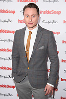 Nathan Morris at the Inside Soap Awards 2017 held at the Hippodrome, Leicester Square, London, UK. <br /> 06 November  2017<br /> Picture: Steve Vas/Featureflash/SilverHub 0208 004 5359 sales@silverhubmedia.com