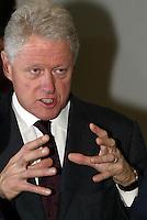 Fomer president of USA Bill Clinton 19/11/2003
