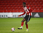 Jean Belehouan of Sheffield Utd during the Professional Development League match at Bramall Lane, Sheffield. Picture date: 26th November 2019. Picture credit should read: Simon Bellis/Sportimage