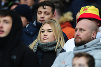 Swansea City fans in action during the Sky Bet Championship match between West Bromwich Albion and Swansea City at The Hawthorns in Birmingham, England, UK. Sunday 08 December 2019