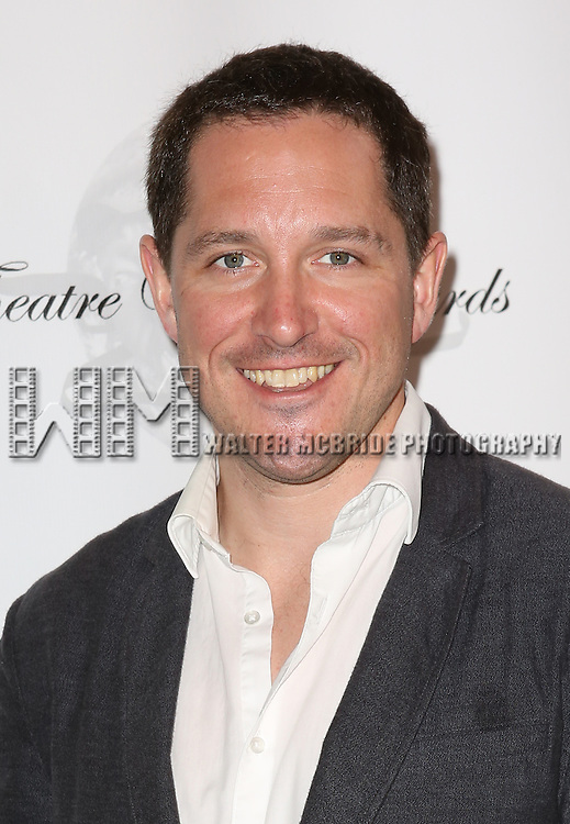 Bertie Carvel attending the 69th Annual Theatre World Awards at the Music Box Theatre in New York City on June 03, 2013.