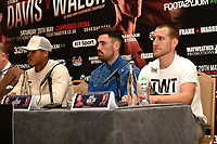 Ryan Walsh (R) looks on during a Press Conference at the Landmark Hotel on 18th May 2017