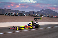 Oct 28, 2016; Las Vegas, NV, USA; NHRA top fuel driver J.R. Todd during qualifying for the Toyota Nationals at The Strip at Las Vegas Motor Speedway. Mandatory Credit: Mark J. Rebilas-USA TODAY Sports