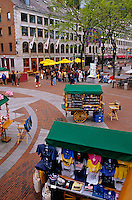 Quincy Market National Historic Landmark Boston