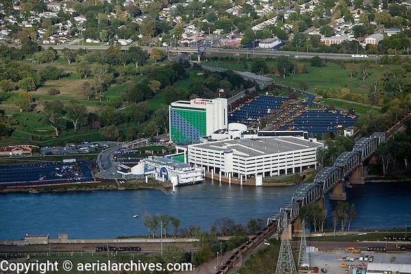 aerial photograph Harrah's Council Bluffs, Iowa