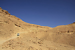 Israel, Negev, descending Noah ascent ro Ramon Crater