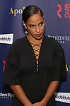 """Megalyn Echikunwoke attends the Broadway Opening Night Celebration for the Roundabout Theatre Company production of """"Apologia"""" on October 16, 2018 at the Laura Pels Theatre in New York City."""