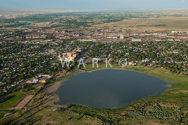 Lake Minnequa, Pueblo, Colorado. June 2014. 85741