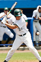 RF Thomas Myers (21)  during 2nd round regional action at Alfred A. McKethan Stadium on the campus of University of Florida in Gainesville.  Miami Hurricanes eliminated Jacksonville 4-0 and will advance to the finals against Florida............