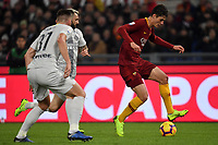 Patrik Schick of AS Roma in action during the Serie A 2018/2019 football match between AS Roma and FC Internazionale at stadio Olimpico, Roma, December, 2, 2018 <br />  Foto Andrea Staccioli / Insidefoto