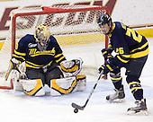 Andrew Brathwaite (Merrimack - 33), Adam Ross (Merrimack - 26) - The Boston College Eagles defeated the Merrimack College Warriors 7-0 on Tuesday, February 23, 2010 at Conte Forum in Chestnut Hill, Massachusetts.