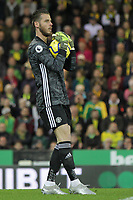 David De Gea of Manchester United during the Premier League match between Norwich City and Manchester United at Carrow Road on October 27th 2019 in Norwich, England. (Photo by Matt Bradshaw/phcimages.com)<br /> Foto PHC/Insidefoto <br /> ITALY ONLY