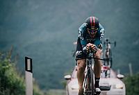 Adam Hansen (AUS/Lotto-Soudal)<br /> <br /> stage 16: Trento &ndash; Rovereto iTT (34.2 km)<br /> 101th Giro d'Italia 2018