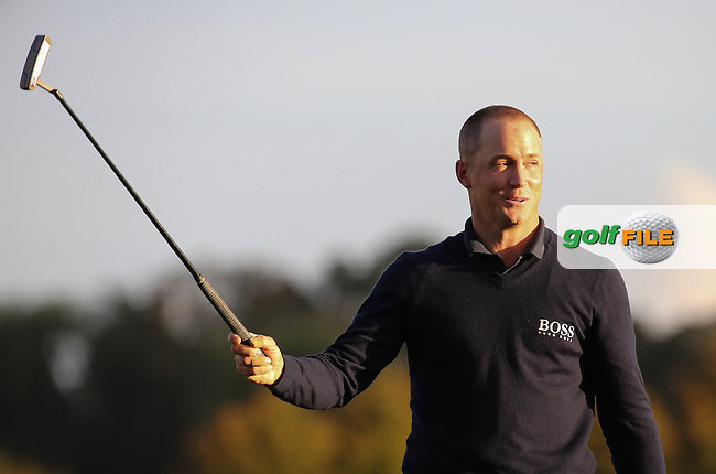 Alex Noren (SWE) wins the Final Round of the British Masters 2016, played at The Grove, Chandler's Cross, Hertfordshire, England. 16/10/2016. Picture: David Lloyd | Golffile.
