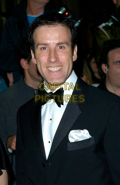 ANTON DU BEKE .Attends The Pink Ice Ball, The Waldorf Hilton Hotel, London, England, October 5th 2007..bow tie portrait headshot.CAP/CAN.©Can Nguyen/Capital Pictures