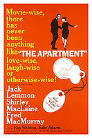The Apartment (1960) <br /> Jack Lemmon and Shirley MacLaine<br /> *Filmstill - Editorial Use Only*<br /> CAP/MFS<br /> Image supplied by Capital Pictures