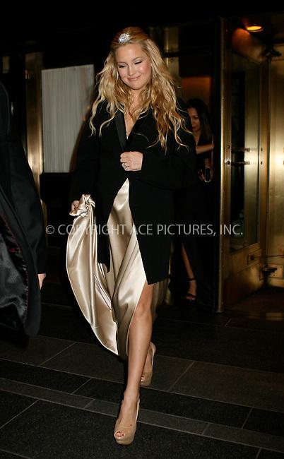 WWW.ACEPIXS.COM . . . . .  ....May 2 2011, New York City....Actress Kate Hudson leaving a hotel on May 2 2011 in New York City....Please byline: NANCY RIVERA- ACEPIXS.COM.... *** ***..Ace Pictures, Inc:  ..Tel: 646 769 0430..e-mail: info@acepixs.com..web: http://www.acepixs.com