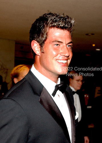 """Washington, DC - May 1, 2004 -- Jesse Palmer, """"The Bachelor"""" who also plays for the New York Giants, arrives for the 2004 White House Correspondents Association Dinner in Washington, D.C. on May 1, 2004..Credit: Ron Sachs / CNP.(RESTRICTION: No New York Metro or other Newspapers within a 75 mile radius of New York City)"""