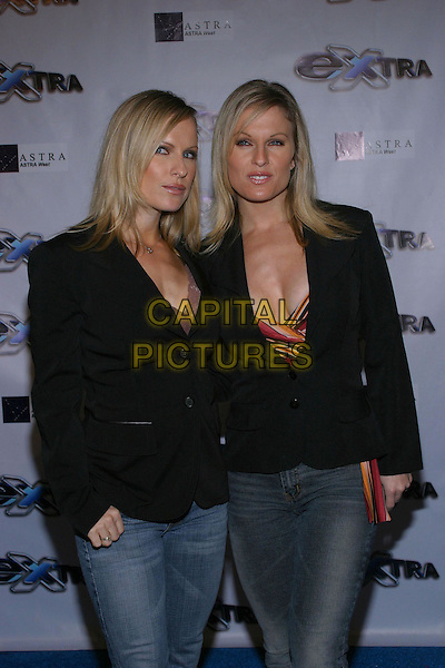 "Diane Klimaszewski and Elaine Klimaszewski.""Extra"" 11th Season Party held at the Lounge, Hollywood, USA, October 7th 2004..half length.Ref: ADM.www.capitalpictures.com.sales@capitalpictures.com.©JW/AdMedia/Capital Pictures ."