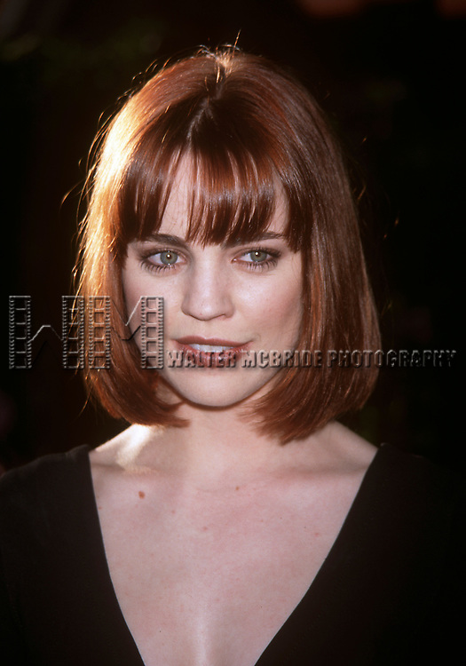 Melissa George of Hollywierd at the FOX Preview Announcements in New York City on May 21st, 1998