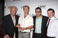 """LOS ANGELES - AUG 4:  Nicolas Coster, Charles Shaughnessy, Gregory J. Martin, Josh O'Connell at the """"The Bay"""" Red Carpet Extravaganza at the Open Air Kitchen + Bar on August 4, 2014 in West Hollywood, CA"""