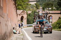 race preparations: TT prologue recon ahead of the 102nd Giro d'Italia 2019<br /> <br /> ©kramon