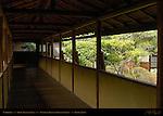 Shoin Drawing Hall Corridor, Tenryuji Heavenly Dragon Temple, Kyoto, Japan