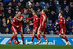 05.12.2018 Rangers v Aberdeen: Scott McKenna celebrates his goal