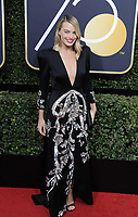 www.acepixs.com<br /> <br /> January 7 2018, LA<br /> <br /> Margot Robbie arriving at the 75th Annual Golden Globe Awards at The Beverly Hilton Hotel on January 7, 2018 in Beverly Hills, California.<br /> <br /> By Line: Peter West/ACE Pictures<br /> <br /> <br /> ACE Pictures Inc<br /> Tel: 6467670430<br /> Email: info@acepixs.com<br /> www.acepixs.com
