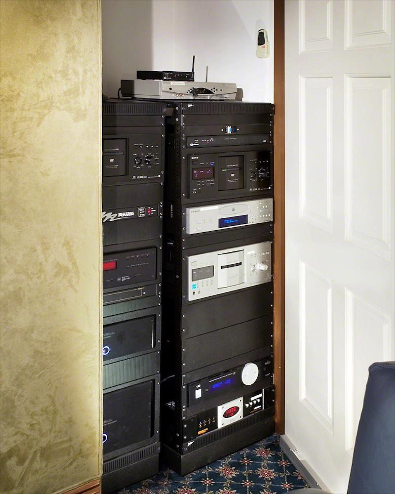 Hidden Closet Rack