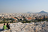 A view of Athens, Greece, from the base of the Acropolis. Photo by Kevin J. Miyazaki/Redux