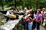 Oregon: Bend, High Desert Museum, porcupine,  Photo: orbend102  .Photo copyright Lee Foster, www.fostertravel.com, 510/549-2202, lee@fostertravel.com