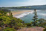Sand Beach in Acadia National Park, Maine, USA