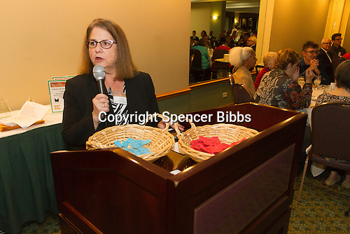 The Hyde Park Chamber of Commerce held its 96th Annual Anniversary Dinner Thursday evening at the LaQuinta Inn and Suites located at 4900 S. Lake Shore Drive.<br /> <br /> 7640, 7641 &ndash; M. C. For the evening, Jayce Feuer of Joyce&rsquo;s Events and Party Planning<br /> <br /> Please 'Like' &quot;Spencer Bibbs Photography&quot; on Facebook.<br /> <br /> All rights to this photo are owned by Spencer Bibbs of Spencer Bibbs Photography and may only be used in any way shape or form, whole or in part with written permission by the owner of the photo, Spencer Bibbs.<br /> <br /> For all of your photography needs, please contact Spencer Bibbs at 773-895-4744. I can also be reached in the following ways:<br /> <br /> Website &ndash; www.spbdigitalconcepts.photoshelter.com<br /> <br /> Text - Text &ldquo;Spencer Bibbs&rdquo; to 72727<br /> <br /> Email &ndash; spencerbibbsphotography@yahoo.com