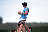 Action from the Hurricanes regional 1st XV rugby final between Palmerston North Boys' High School and Napier Boys' High School at Massey University in Palmerston North, New Zealand on Saturday, 17 August 2019. Photo: Dave Lintott / lintottphoto.co.nz