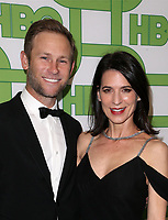 BEVERLY HILLS, CA - JANUARY 6: Aaron Endress-Fox, Perrey Reeves, at the HBO Post 2019 Golden Globe Party at Circa 55 in Beverly Hills, California on January 6, 2019. <br /> CAP/MPI/FS<br /> ©FS/MPI/Capital Pictures
