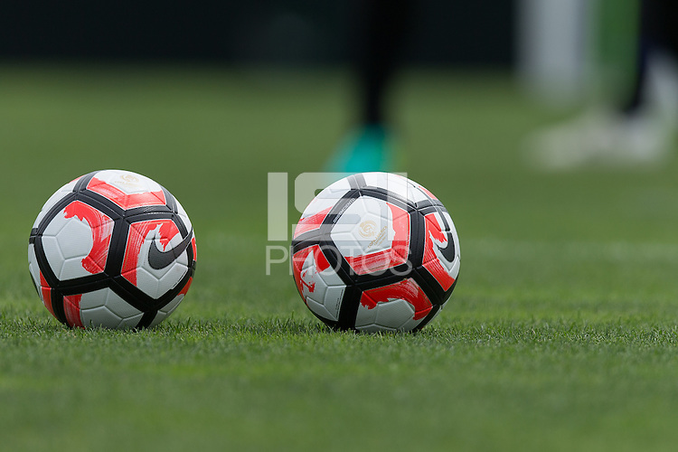 Kansas City, KS. - May 27, 2016: The USMNT train in preparation for the 2016 Copa Centenario at Swope Soccer Village.