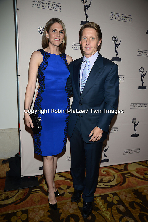 Colleen and Bradley Bell attends the Academy Of Television Arts & Science Daytime Programming  Peer Group Celebration for the 40th Annual Daytime Emmy Awards Nominees party on June 13, 2013 at the Montage Beverly Hills in Beverly Hills, California.