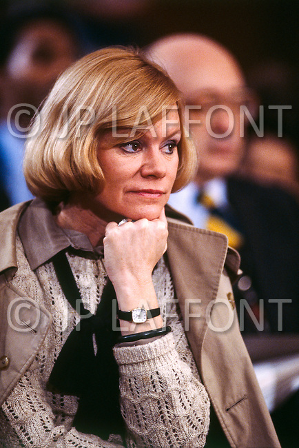 February 18th 1987, Washington, DC, USA. Becky Gates, Wife of American CIA Director, Robert Gates.